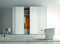 contemporary lacquered wardrobe with sliding doors DOT ! Doc Mobili