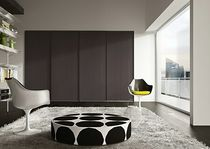 contemporary lacquered wardrobe with sliding doors SIGN  Morassutti Arredamenti