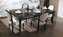 contemporary lacquered wood table SAVOY Planum, Inc.