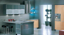 contemporary laminate / aluminium kitchen ALUMINIUM ELITON