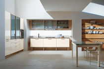 contemporary laminate / glass kitchen MAURA  CUCINE LUBE