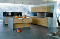 contemporary laminate kitchen (imitation wood) SIEMATIC S1 SIEMATIC