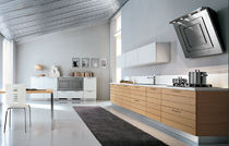 contemporary laminate kitchen (imitation wood) MIURA Corazzin Group - Contract &amp; hotel