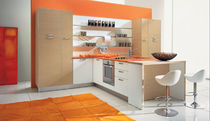 contemporary laminate kitchen (with island) IDEA Corazzin Group - Contract &amp; hotel
