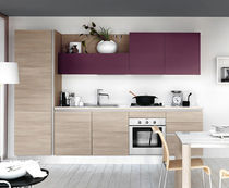 contemporary laminate kitchen (imitation wood) DM0141 pensarecasa.it