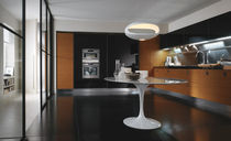 contemporary laminate / stainless steel kitchen SILVERBOX by Pietro Arosio ERNESTOMEDA