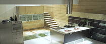 contemporary laminate / stainless steel kitchen WAY Alta