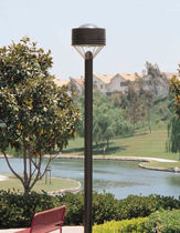 contemporary lamp post CURVILINEAR WTH/WTV KIM Lighting