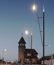 contemporary lamp post D&Ocirc;ME XL 11,175 M AUBRILAM