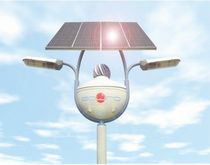 contemporary lamp post (solar) ALBATROS Sowind