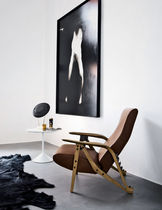 contemporary leather armchair GILDA  Zanotta