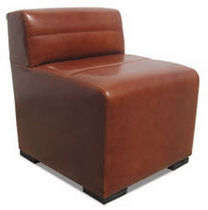 contemporary leather armchair SANTOS Costantini Design