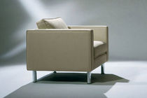 contemporary leather armchair CLASSIC by Barry Davison DAVISON HIGHLEY