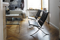 contemporary leather armchair FK 82 X by P.Fabricius & J.Kast Lange Production