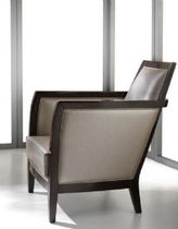 contemporary leather armchair FLY PLATINO : F86 ARTE BROTTO