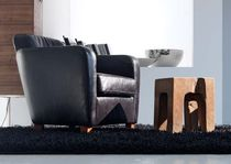 contemporary leather armchair BUBBLE ELITE