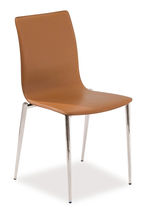 contemporary leather chair INGRID by Jan Sabro Vibiemme