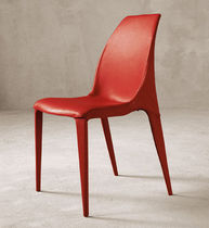 contemporary leather chair BALI by Toshiyuki Yoshino cattelan italia