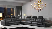 contemporary leather corner sofa DAYTON GRUPO PIEL CONFORT / SIEXTTA