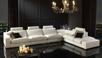 contemporary leather corner sofa LIVING GRUPO PIEL CONFORT / SIEXTTA