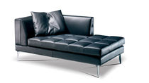 contemporary leather daybed PRESTIGE DESIGN: Tiziano Formenti Formenti