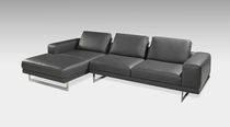 contemporary leather modular sofa 0218A OLIVA Planum, Inc.