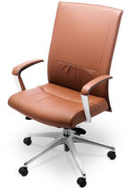 contemporary leather office armchair INSIGHT DECORA by Stylex Stylex