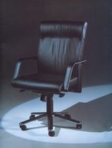 contemporary leather office armchair  IMO