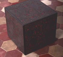 contemporary leather pouf UNDERSKIN Extrabilia