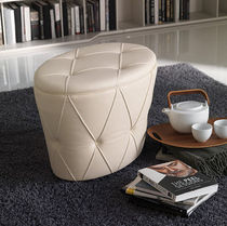contemporary leather pouf PINKO by Paolo Cattelan cattelan italia