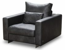contemporary leather recliner armchair SUITE Kler