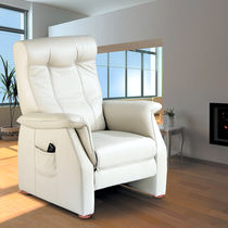 contemporary leather recliner armchair ORION Everstyl