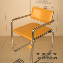 contemporary leather sled base chair BRUXE  Arrben di Benvenuto Ottorino