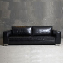 contemporary leather sofa EMBASSY Lodge Collection