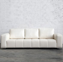 contemporary leather sofa MIAMI LEATHER Lodge Collection