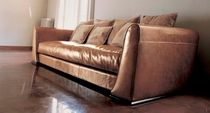 contemporary leather sofa BOSTON baxter