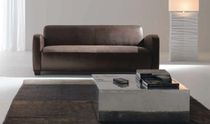 contemporary leather sofa AGE by Ruggero Camilotto ELITE