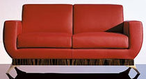 contemporary leather sofa SC 1010 OAK DESIGN