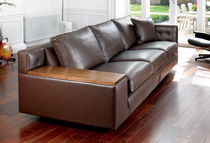 contemporary leather sofa MONDRIAN Duresta Upholstery Limited