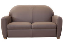 contemporary leather sofa CANAP&Eacute; CLUB DESIGN Fleurdebasane