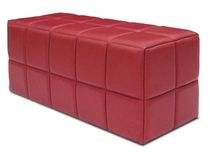 contemporary leather upholstered bench TRILLO Kler
