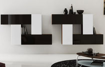 contemporary living room wall unit INBOX CO.13 by S.T.C. Calligaris Italian home design since 1923