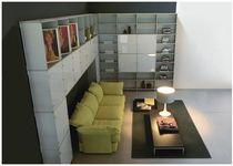 contemporary living room wall unit LIVING Fitting