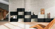 contemporary living room wall unit NET LAGO