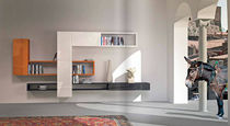 contemporary living room wall unit LAGOLINEA LAGO