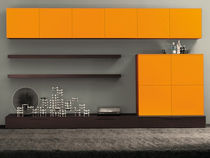 contemporary living room wall unit LIVING 038 Clever