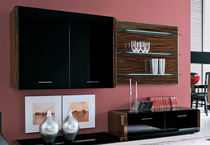 contemporary living room wall unit  e