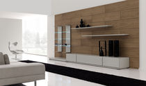 contemporary living room wall unit HELIOS Planum, Inc.