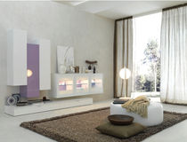 contemporary living room wall unit ZEROTRE FRATELLI ROSSETTO