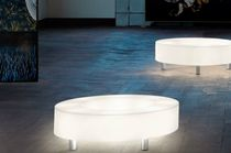 contemporary luminous coffee table ATOLLO by paolo grasselli modo luce